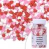 SERDUSZKA MIX II jadalna posypka cukrowe dekorki Walentynki