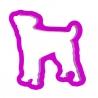 Foremka do ciastek i pierników Pies Parson Russell Terrier