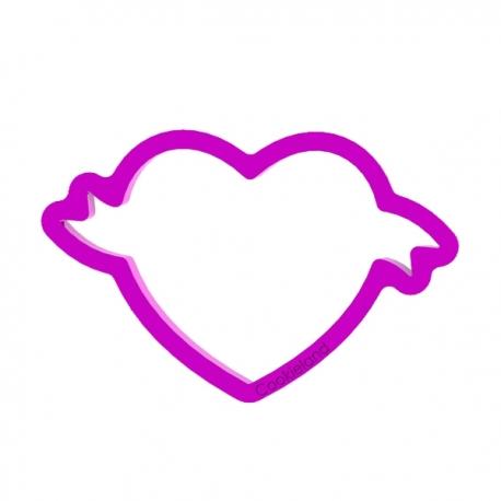 Foremka do ciastek i pierników Serce z wstążką