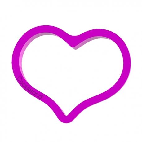 Das Förmchen für Kekse und Lebkuchen Pralles Herz