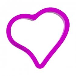 Das Förmchen für Kekse und Lebkuchen Süßes Herz