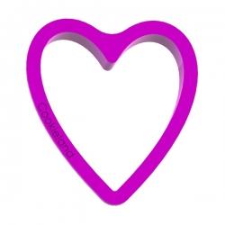 Das Förmchen für Kekse und Lebkuchen Schmales Herz
