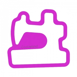Das Förmchen für Kekse und Lebkuchen Nähmaschine