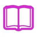 Książka rozłożona