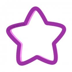 Das Förmchen für Kekse und Lebkuchen Stern 2