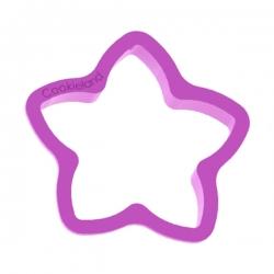 Das Förmchen für Kekse und Lebkuchen Molliger Stern