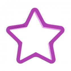 Das Förmchen für Kekse und Lebkuchen Stern 3