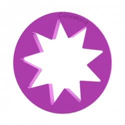 Das Förmchen für Kekse und Lebkuchen Großer Stern