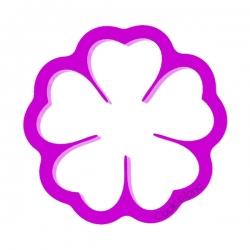 Das Förmchen für Kekse und Lebkuchen Blume 2
