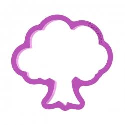 Das Förmchen für Kekse und Lebkuchen Baum