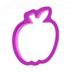Das Förmchen für Kekse und Lebkuchen Apfel
