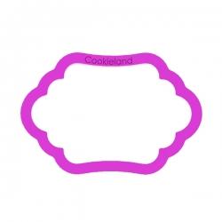 Das Förmchen für Kekse und Lebkuchen Plakette 15