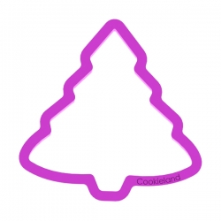 Das Förmchen für Kekse und Lebkuchen Tannenbaum