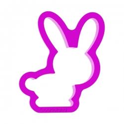 Das Förmchen für Kekse und Lebkuchen Kleines Kaninchen
