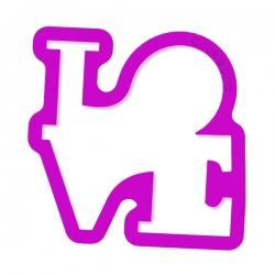 Aufschrift LOVE