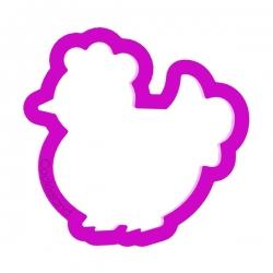 Das Förmchen für Kekse und Lebkuchen Huhn