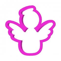 Das Förmchen für Kekse und Lebkuchen Engel