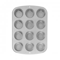 Forma stalowa do muffinów 12 gniazd Wilton 2105-954